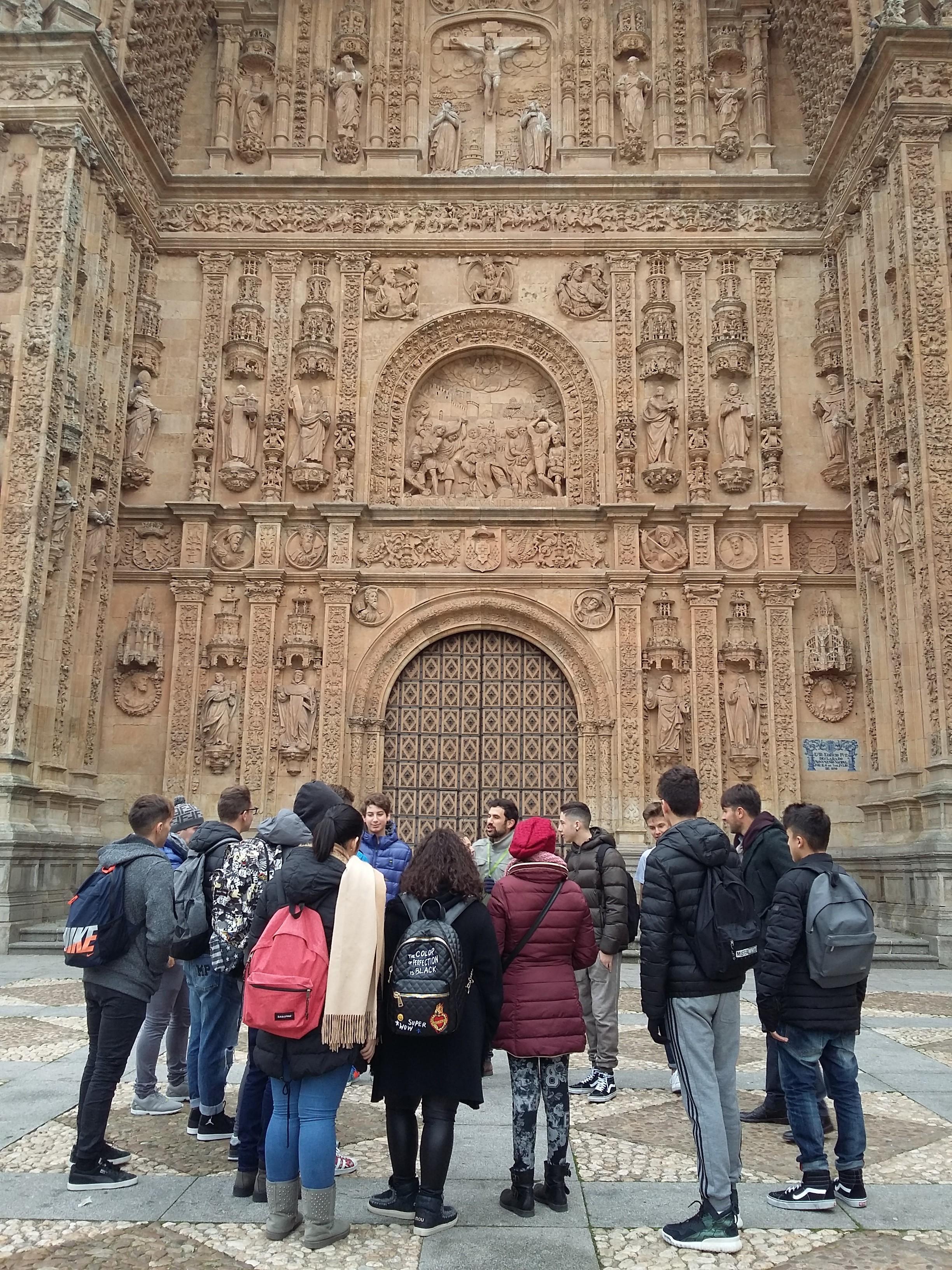 Salesiani Vomero | Soggiorno studio spagnolo – Salamanca 2016 ...